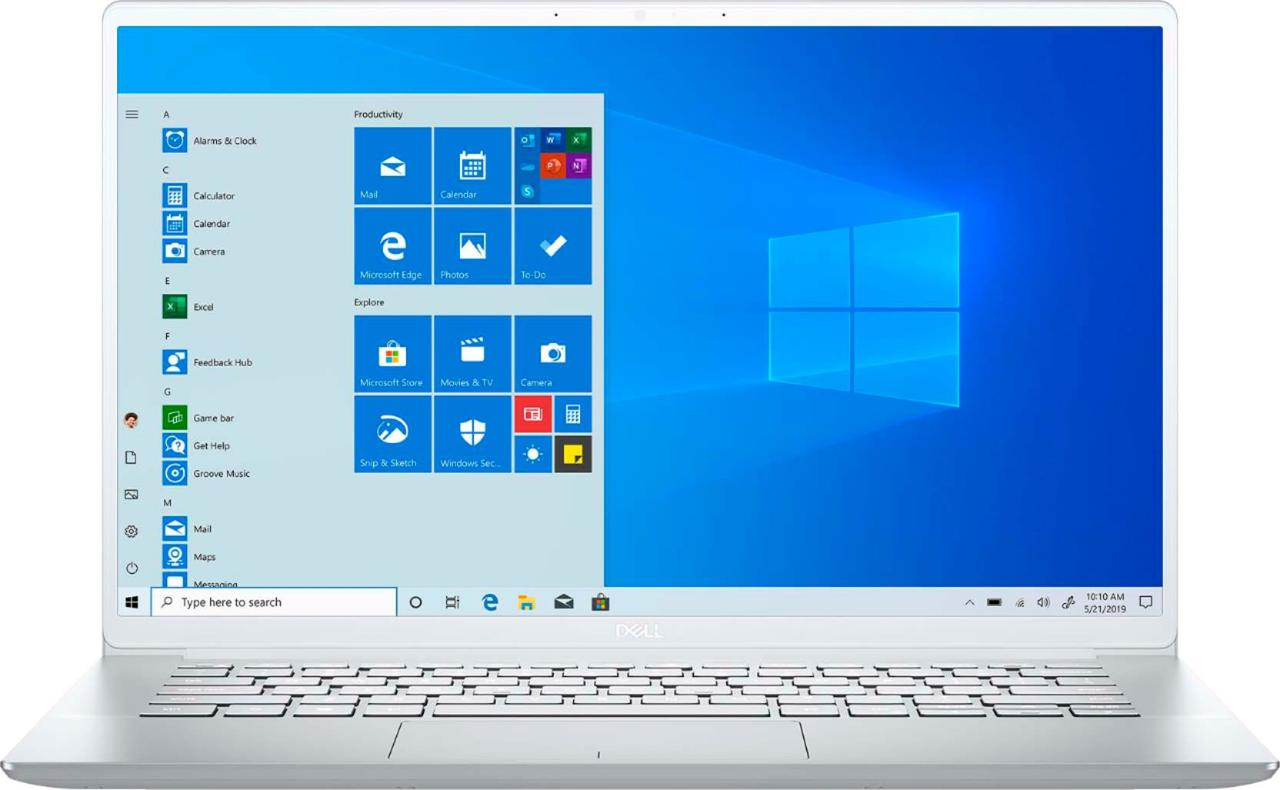 """Dell Inspiron 7490-7842SLV Core™ i7-10510U 1.8GHz 512GB SSD 8GB 14"""" (1920x1080)"""
