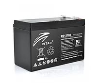 Аккумулятор для ИБП AGM Ritar RT1270B, Black Case, 12V 7.0Ah, (151*65*100)