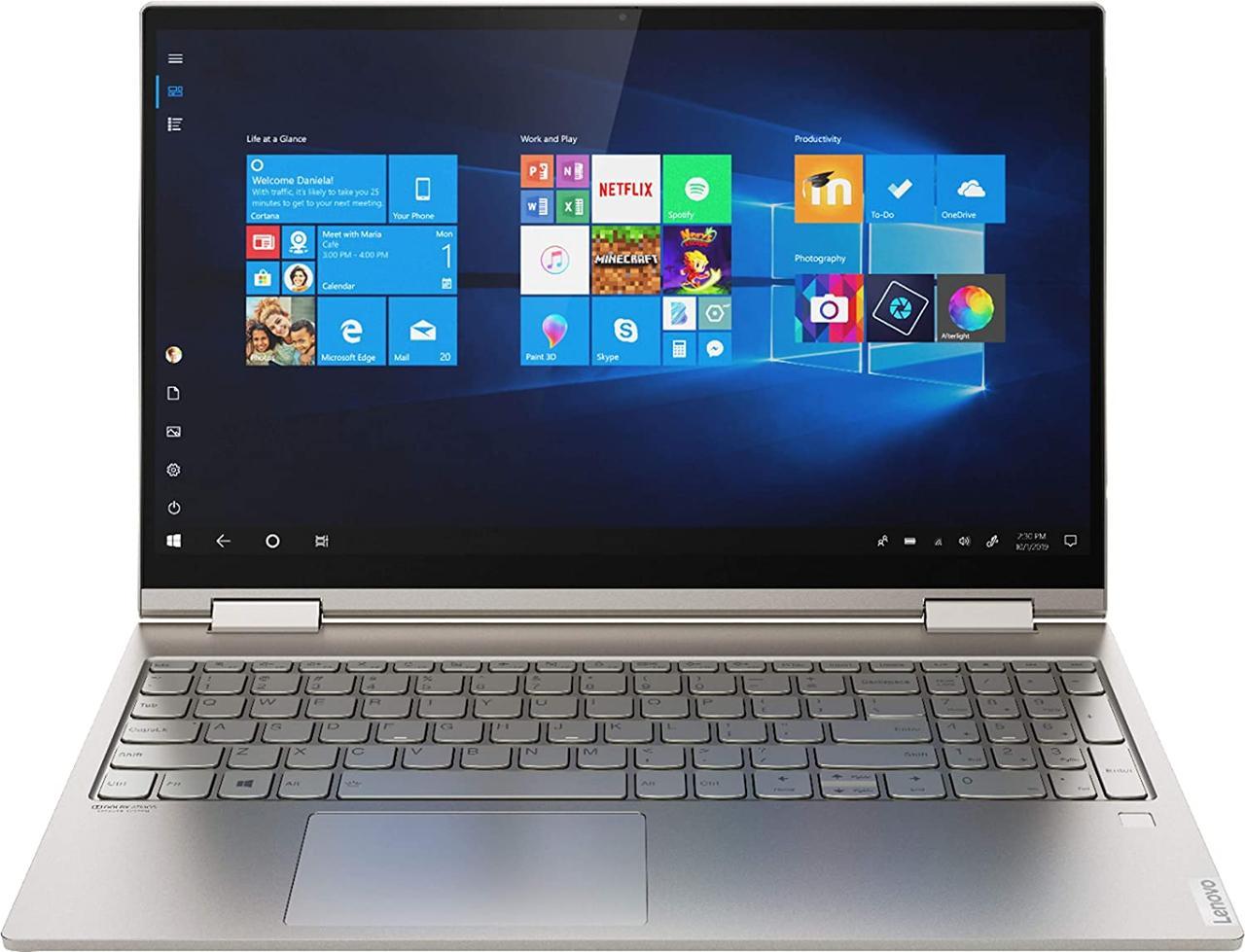 "Lenovo YOGA C740-15IML 2-IN-1 Core™ i7-10510U 1.8GHz 512GB SSD 12GB 15.6"" (1920x1080)"