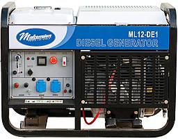 Генератор  дизельный  Malcomson  ML12  DE1