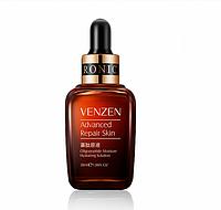 Сыворотка с пептидами для лица сужающая поры Venzen Natural Organic Advanced Repair Skin