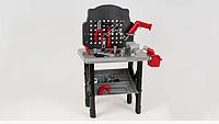 Детский игровой набор инструментов 16554B верстак,дрель-вращ.сверло,50 деталей,на батар