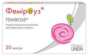 Фемироуз способствуют нормализации менструального цикла и уменьшению проявлений ПМС (30капс.,Испания)