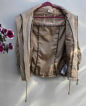 Жіноча стильна куртка Розмір М ( Б-40), фото 3