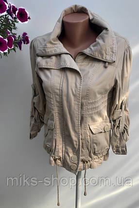 Жіноча стильна куртка Розмір М ( Б-40), фото 2
