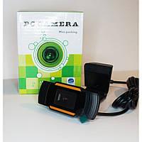 Проводная веб - камера с микрофоном на ножке WebCam 2E FHD черная, 2Мp, 1920x1080P, вебкамеры WebCam,