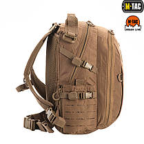 M-Tac рюкзак Urban Line Charger Hexagon Pack Coyote Brown, фото 3