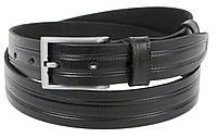 Мужской ремень из кожи Skipper ширина 3.3 см Черный 1251-33, КОД: 1401878