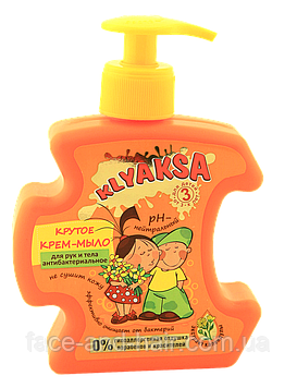 Крем-мыло для рук и тела Крутое Aнтибактериальное KLYAKSA