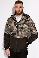 Куртка с милитари принтом 120POB21013
