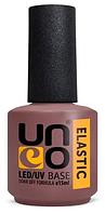 Базовое покрытие для гель лака Uno ELASTIC, 15мл