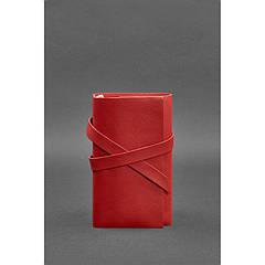 Женский кожаный блокнот (Софт-бук) 1.0 Красный