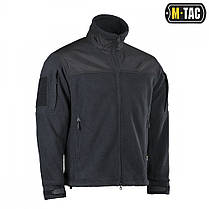 M-Tac куртка Hexagon Alpha Microfleece Jacket Black, фото 3