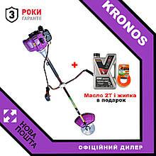 Коса бензинова Kronos ББТ-5600 + В подарок масло 2Т і жилка!