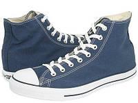 Синие высокие мужские кеды Converse (Конверс) All Star