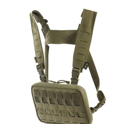 M-Tac нагрудная сумка Chest Rig Elite Ranger Green олива, фото 2