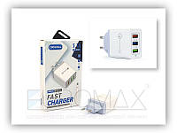 Зарядное устройство с кабелем USB - micro USB Charger Samsung 220В, 5,1А, 3USB, зарядное для телефона Samsung,