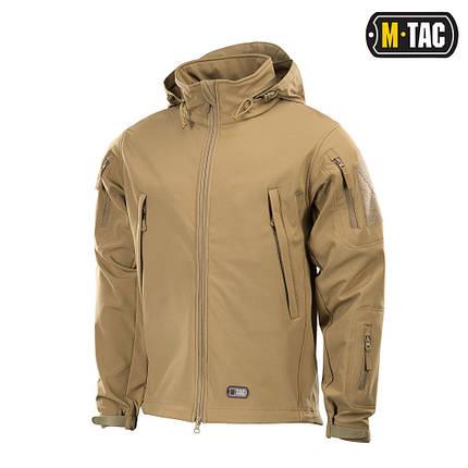 M-Tac куртка Soft Shell Tan софтшелл койот, фото 2