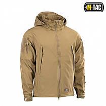 M-Tac куртка Soft Shell Tan софтшелл койот, фото 3