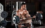 Скамья для жима RN-Sport, 4 грифа + 80 кг блинов, фото 4