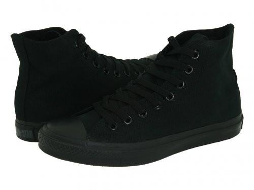 Черные высокие мужские кеды Converse (Конверс) All Star - Интернет магазин  обуви Wikishoes в 50886fd1785
