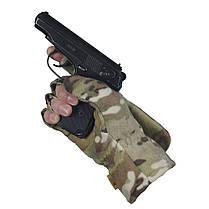 M-Tac перчатки беспалые с клапаном Windblock 295 MC, фото 3