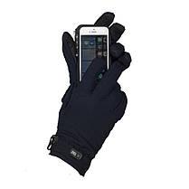 M-Tac перчатки Soft Shell Thinsulate Navy Blue, фото 3