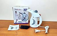 Вертикальный ручной отпариватель Аврора, 1400 Вт, Функция сауны для лица A7, Белый, паровой утюг