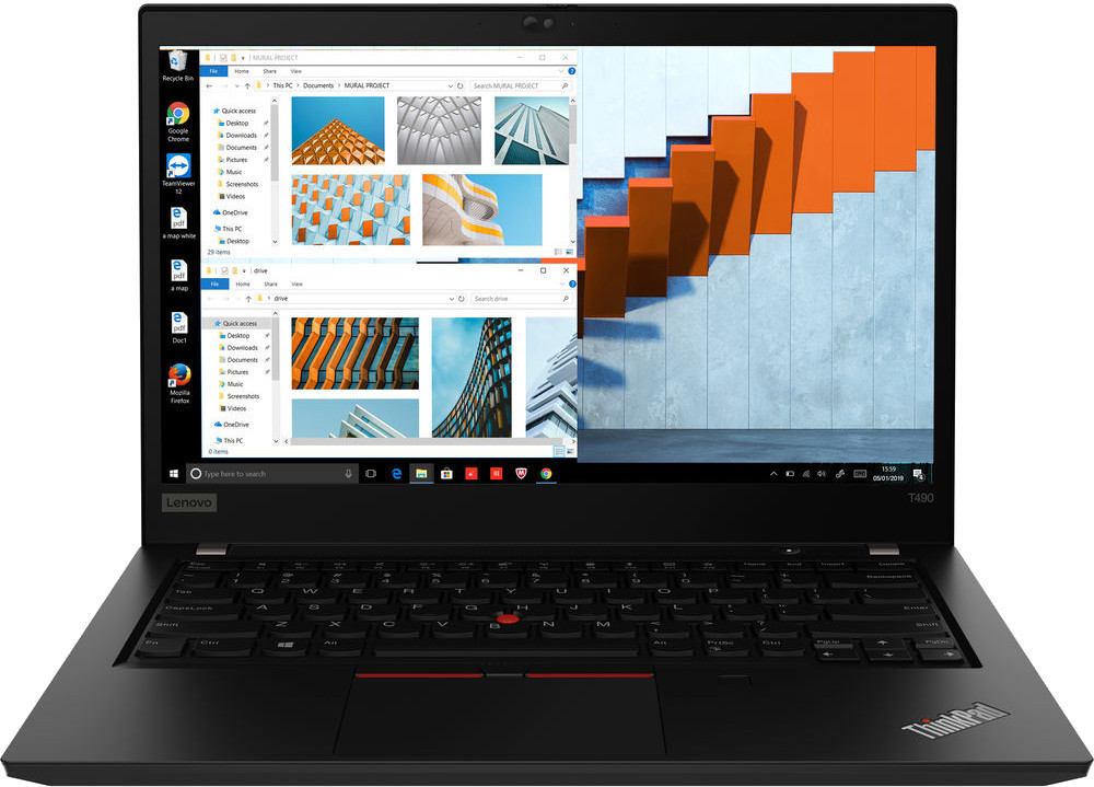 "Lenovo ThinkPad T490 Core™ i7-8665U 1.9GHz 1TB SSD 42GB 14"" (2560 x1440)"