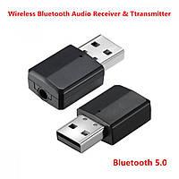 Аудио адаптер для передачи аудиосигнала ZF-169 2 in 1 Transmitter/Receiver 32x17x8.5mm, v5.0, аудио