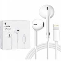 Наушники проводные без крепления Apple EarPods белый, пластик, 1м, наушники Apple, аксессуары для телефона
