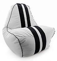 Кресло-мешок Beans Bag груша Ferrari 85*95*105 Серый (hub_ksoY54645)