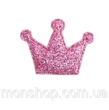 Корона в глиттере (2,7х1,9 см)