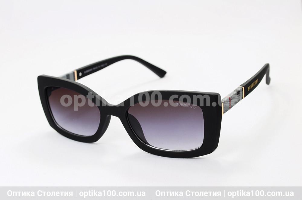 Солнцезащитные очки ДЛЯ ЗРЕНИЯ в стиле Barberry. Матовая черная оправа