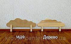 """Бортик для детской кровати из МДФ в белых оттенках от производителя """"Облако"""" 80 см., фото 2"""