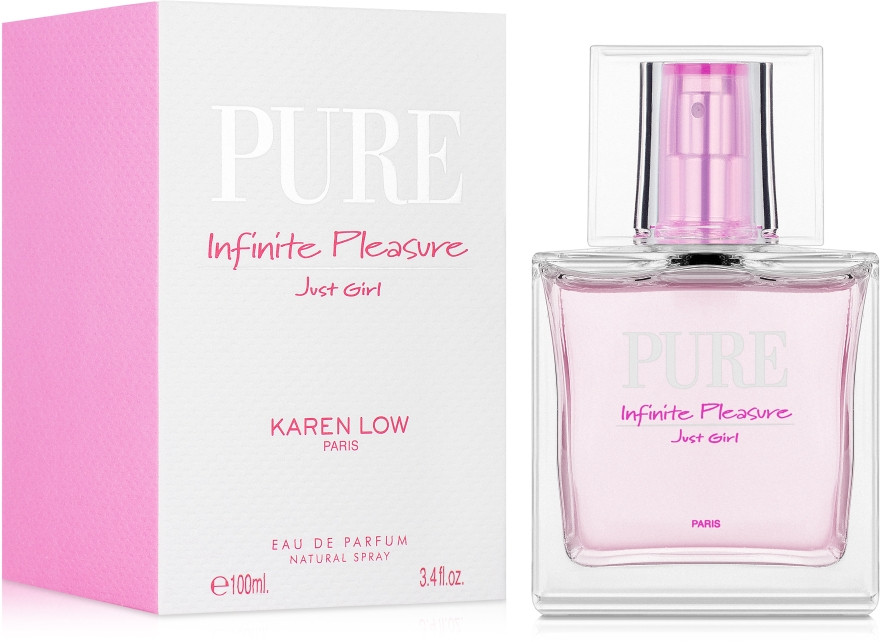 Женская парфюмерная вода  Pure  Pure Infinite Pleasure Just Girl 100ml. Karen Love.Geparlys.