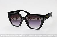 Солнцезащитные очки ДЛЯ ЗРЕНИЯ в стиле Gucci. Черная оправа, фото 1