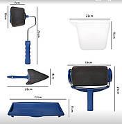 Комплект малярних валиків для фарбування стін Paint Roller, фото 2