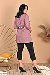 Женский костюм рубашка с лосинами (Батал), фото 3