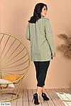 Женский костюм рубашка с лосинами (Батал), фото 6