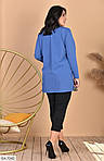 Женский костюм рубашка с лосинами (Батал), фото 7