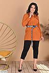 Женский костюм рубашка с лосинами (Батал), фото 8