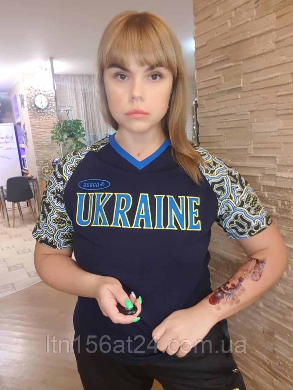 Женская футболка Bosco Sport ua  хлопок