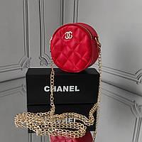 Мини кросс боди, красная сумка Chanel, фото 1