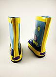 Резиновые сапоги для мальчиков, синие, BBT, фото 4