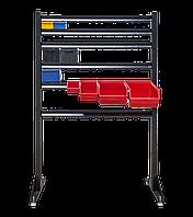 Торговый стеллаж под метизы , Стеллаж для метизов с ящиками 1500 мм