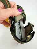 Обувь для мальчиков, босоножки хаки JongGolf 23 разме, фото 8