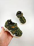 Обувь для мальчиков, босоножки хаки JongGolf 23 разме, фото 10