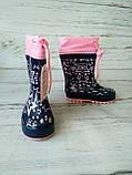Детские резиновые сапоги для девочек Kimboo, фото 5
