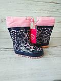 Детские резиновые сапоги для девочек Kimboo, фото 6